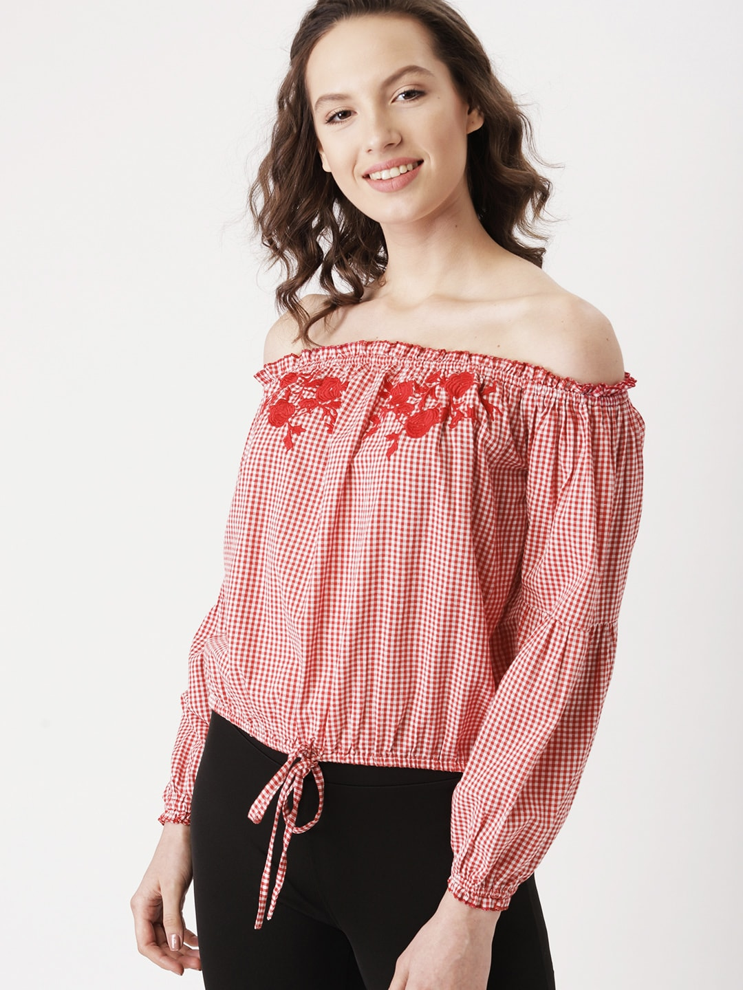 b76bd04d48e0f2 Bardot Tops - Buy Bardot Top Online in India