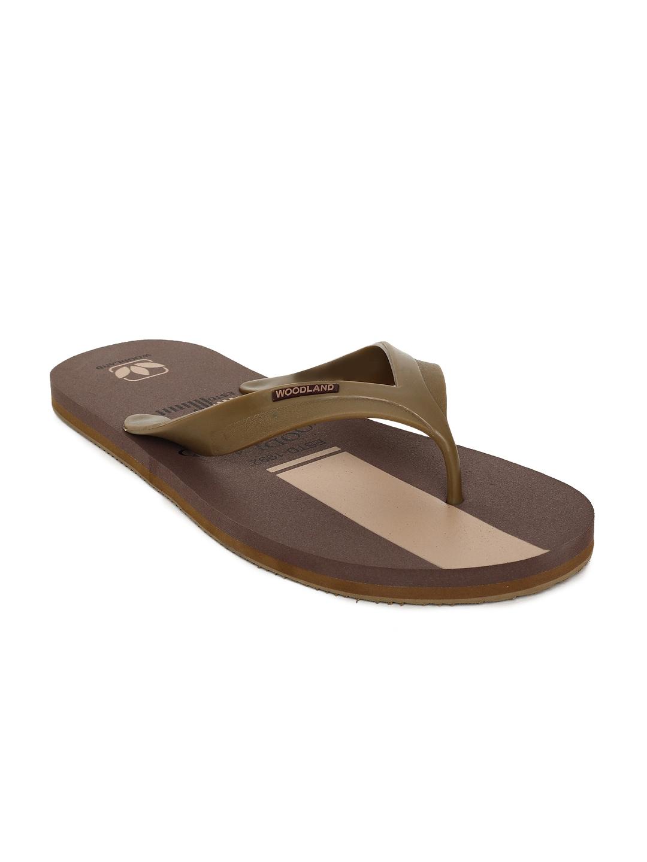 54a239134da193 Thong Brown Flip Flops - Buy Thong Brown Flip Flops online in India