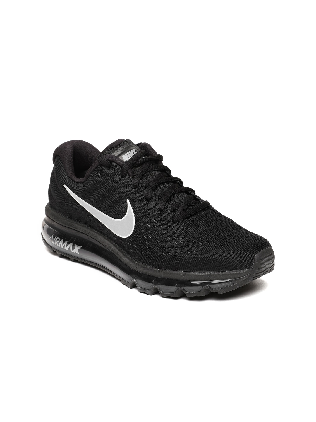 bas prix 72c96 5ae92 Nike Women Black Air Max 2017 Running Shoes