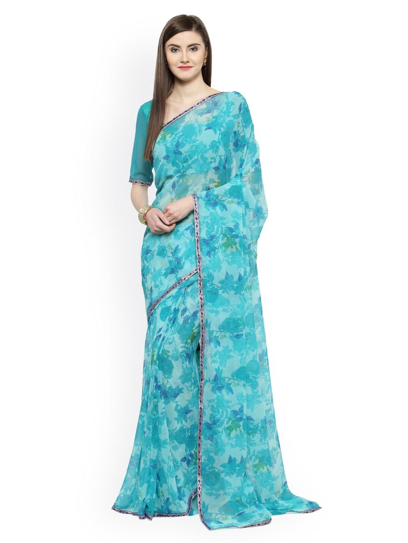 58f64a46c59 Blue Saree - Buy Blue Color Women Sarees Online