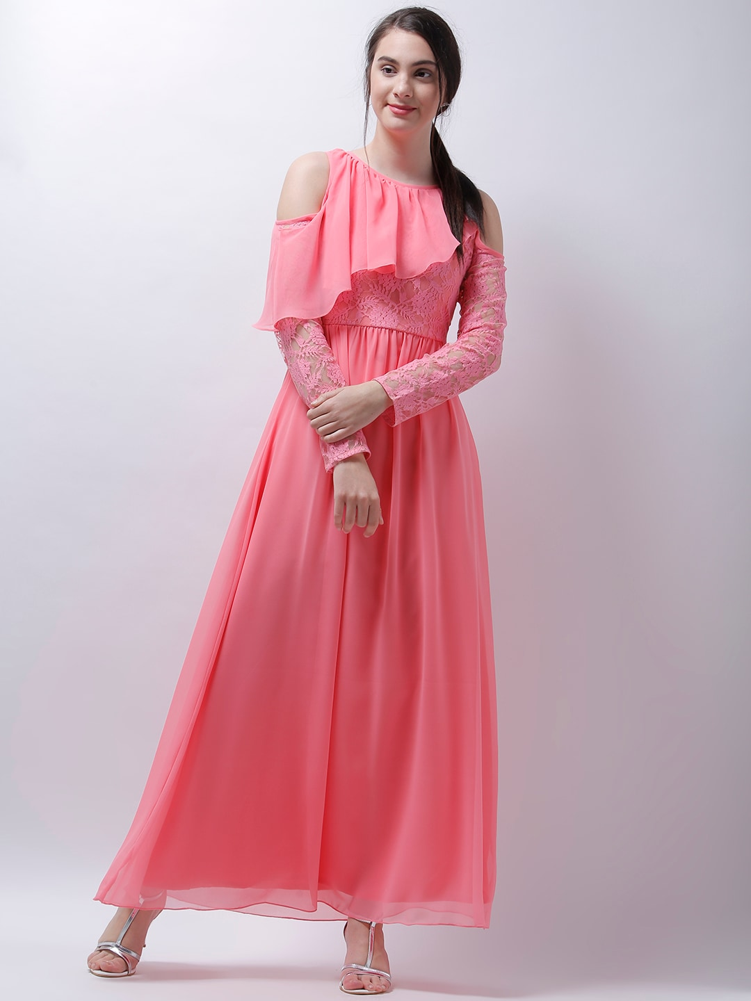 20d8b34bc589 Maxi Dress Long Design - Buy Maxi Dress Long Design online in India