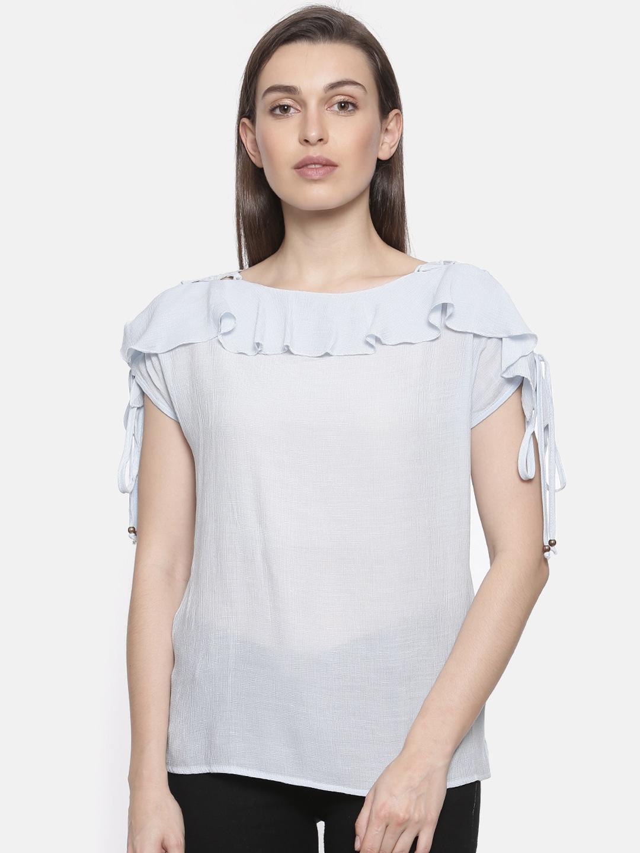 a311b378bfa7c Cold Shoulder Tops - Buy Cold Shoulder Tops for Women Online - Myntra