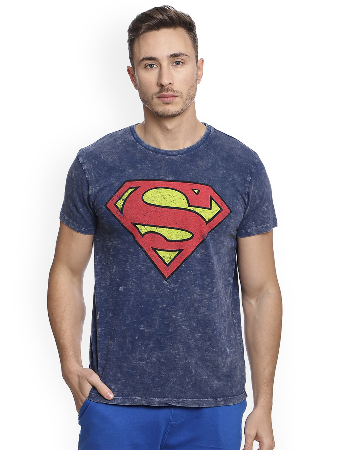 692449f118dc5 Superman T-shirts Buy Superman T-shirt Online in India at Myntra