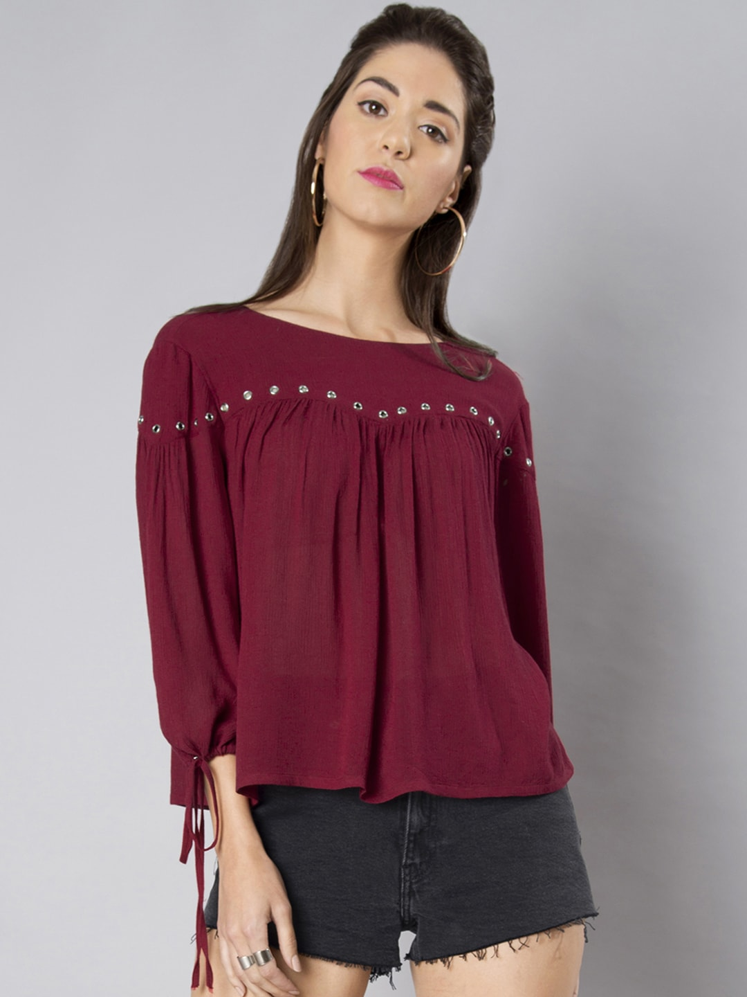 66085086c4bcf FabAlley Top - Buy FabAlley Tops Online in India