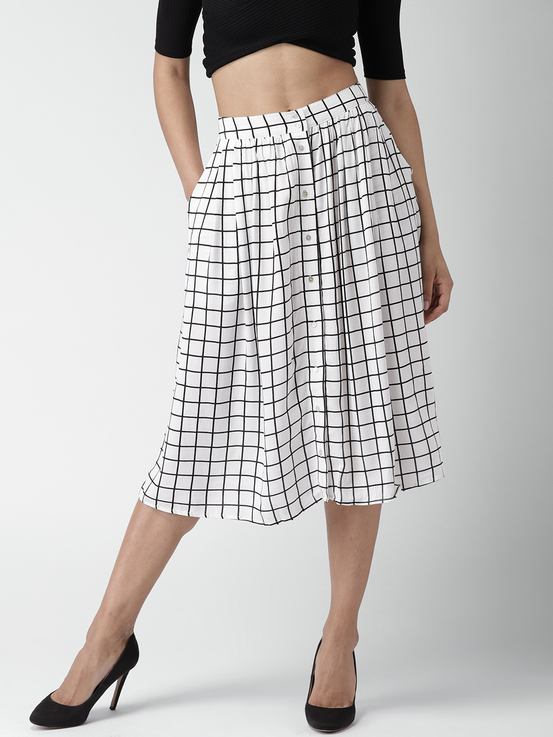 08608f1e31 Forever 21 Midi Bottomwear - Buy Forever 21 Midi Bottomwear online in India