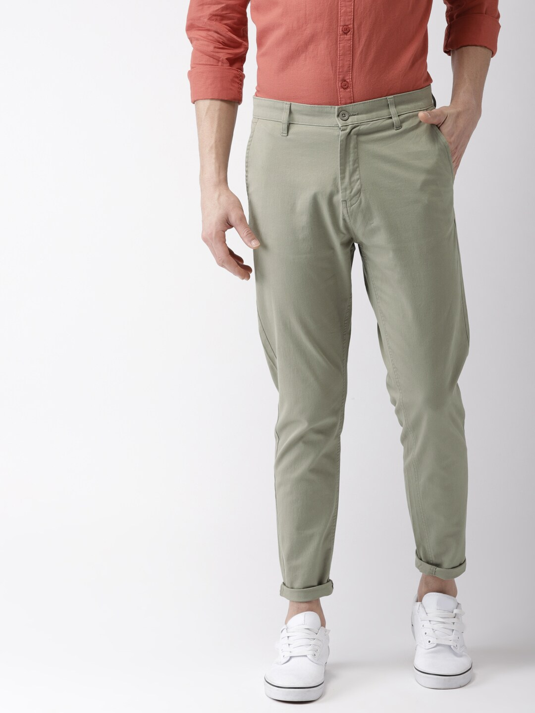 Men Casual Trousers - Buy Casual Pants for Men in India - Myntra 89933dc0e