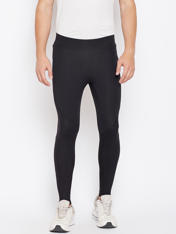 Adidas Men Black Alphaskin TEC LT Tights