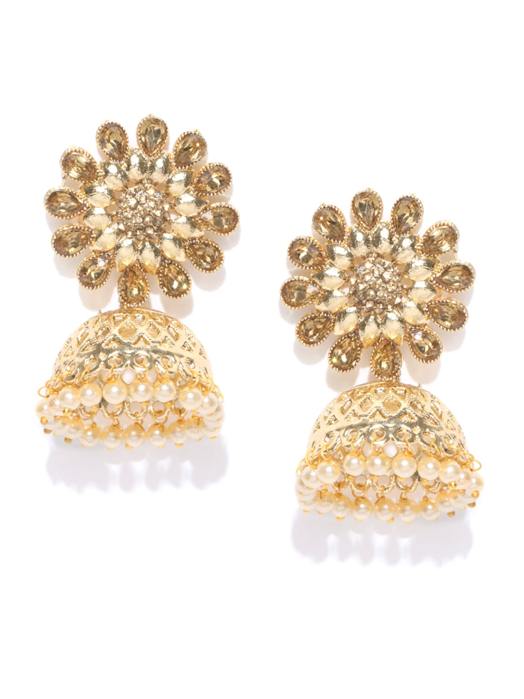 f09055101 Pearl Jhumkas Earring Earrings Jeggings - Buy Pearl Jhumkas Earring Earrings  Jeggings online in India