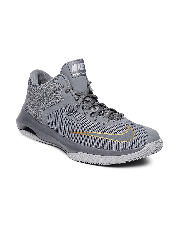 e5764b056f1 Nike Men Grey Air Versitile II Basketball Shoes