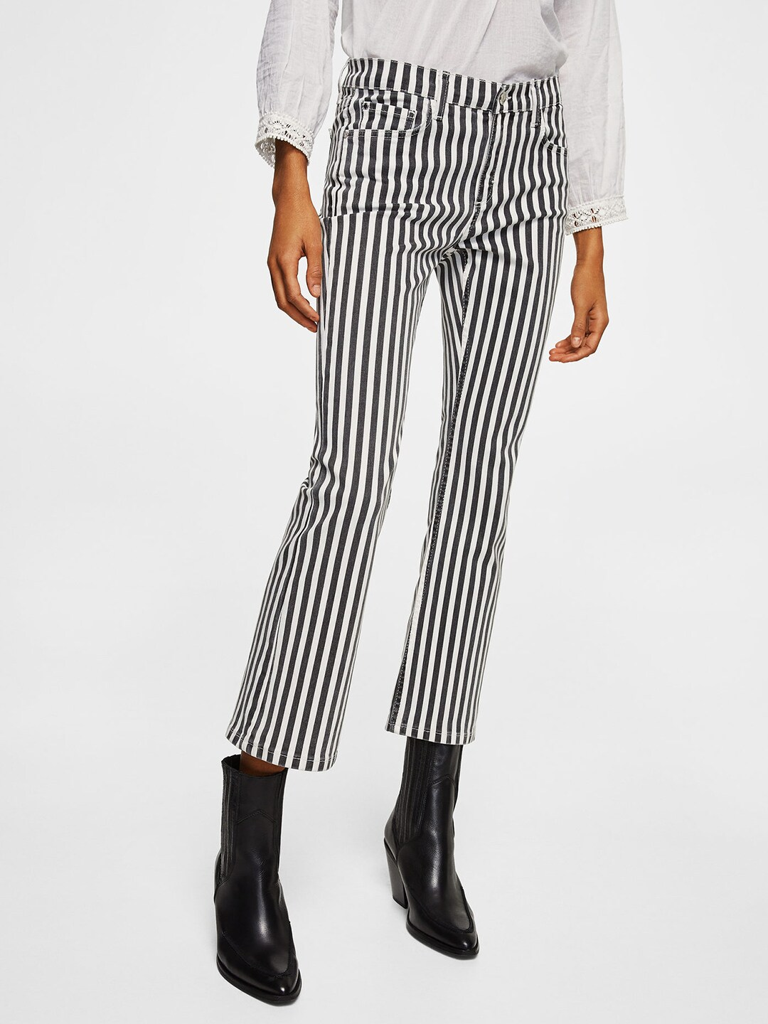 Women Striped Jeans - Buy Women Striped Jeans online in India 723473c6f