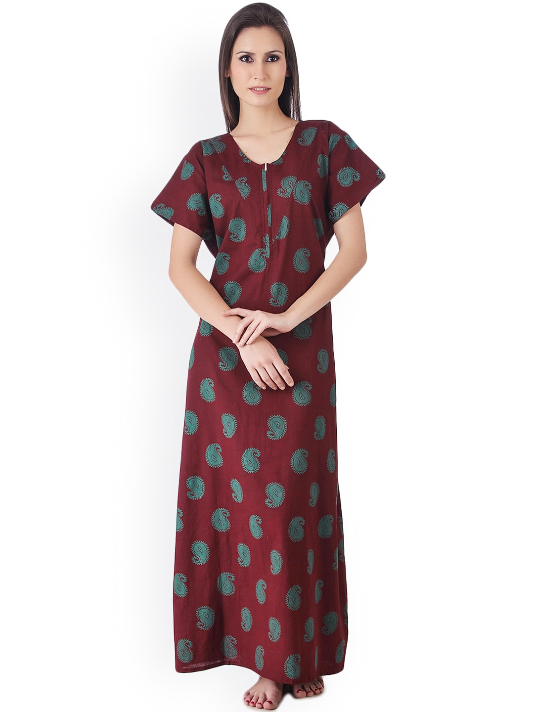 9ebbac7fff4 Cotton Nightdresses - Buy Cotton Nightdresses Online in India