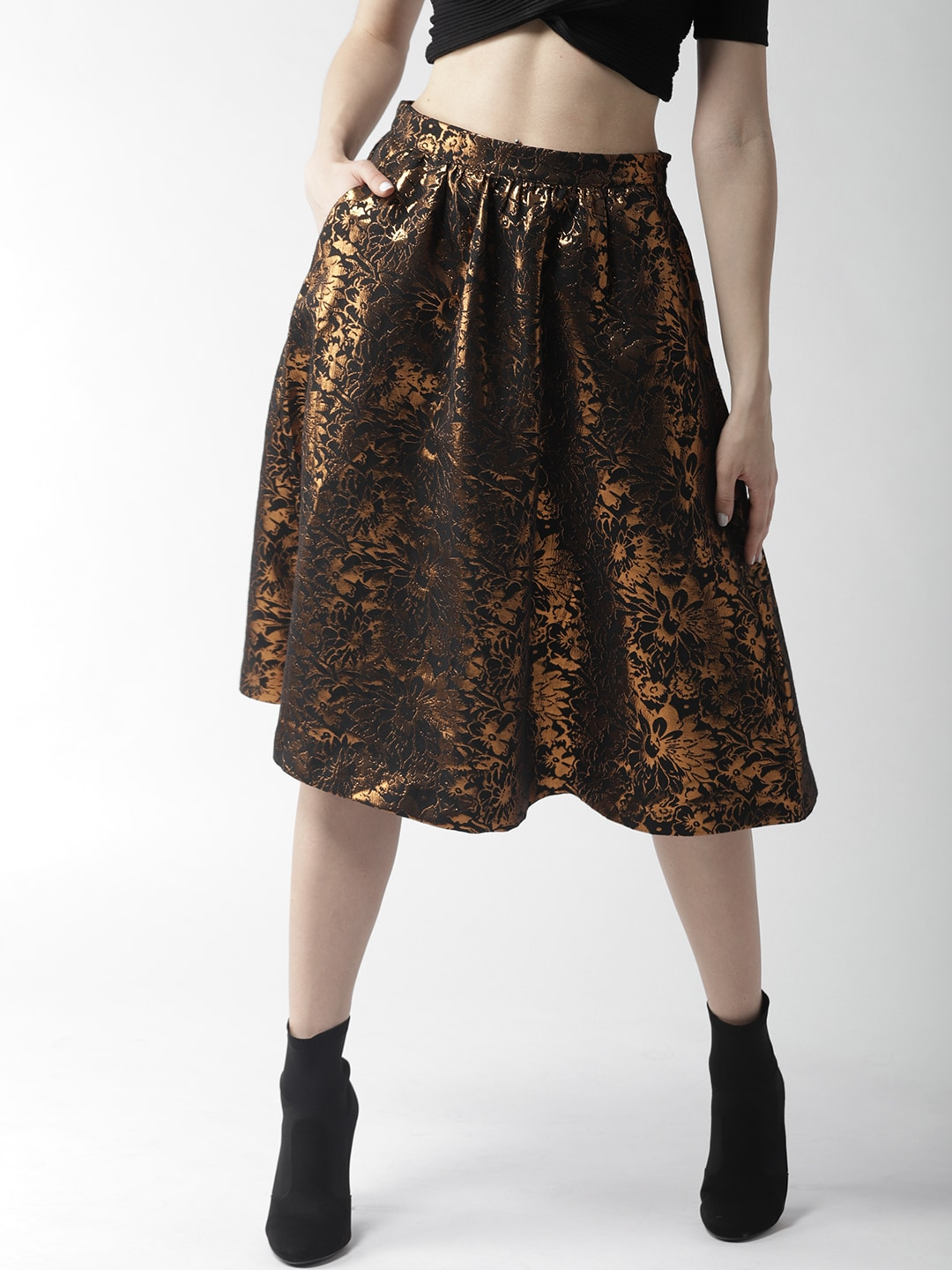 a92cf9b588e33b Party Black Skirts - Buy Party Black Skirts online in India