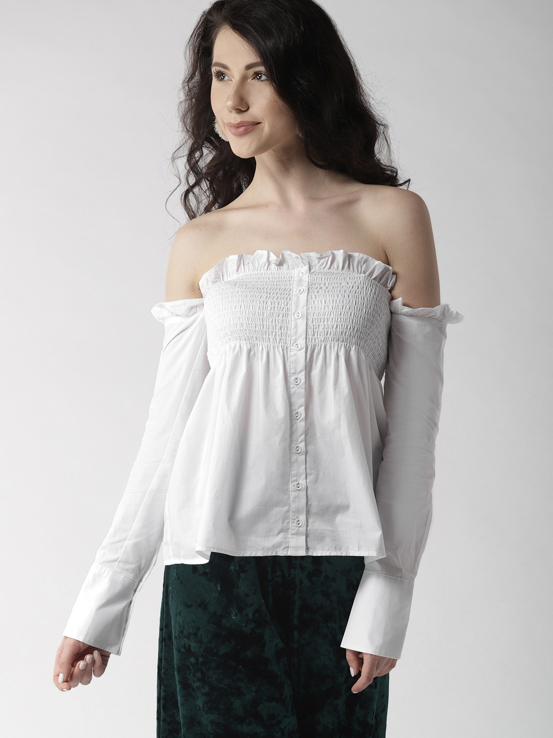 c8f06571ef502e Forever 21 Woven Tops - Buy Forever 21 Woven Tops online in India