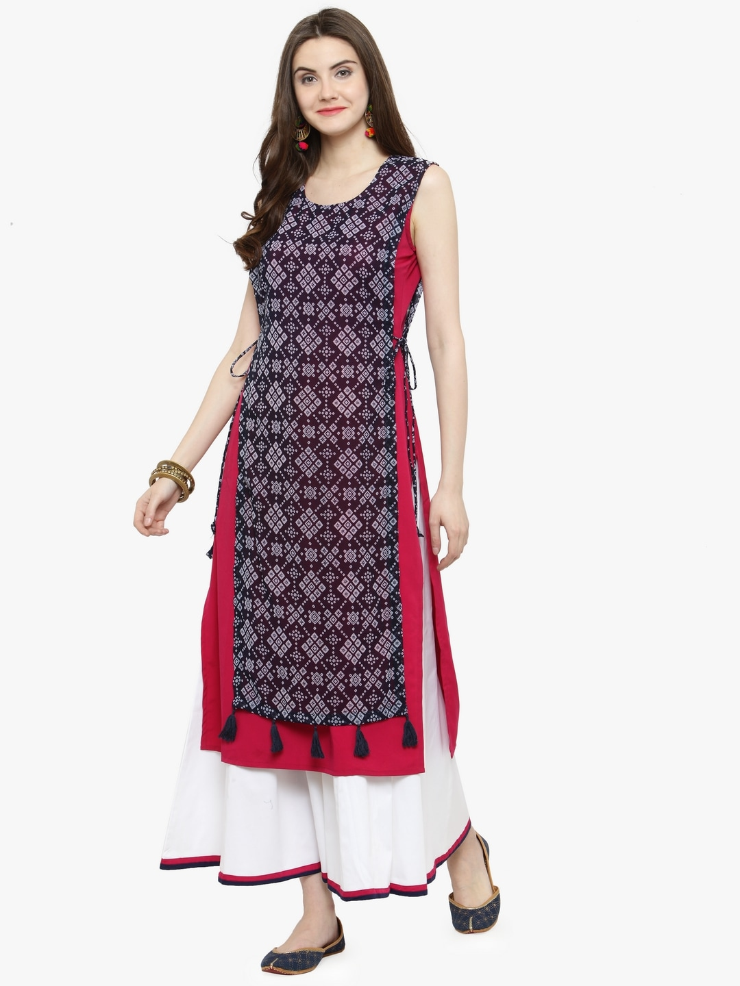 26ec7dcd4cd Layered Kurtas - Buy Layered Kurtas online in India