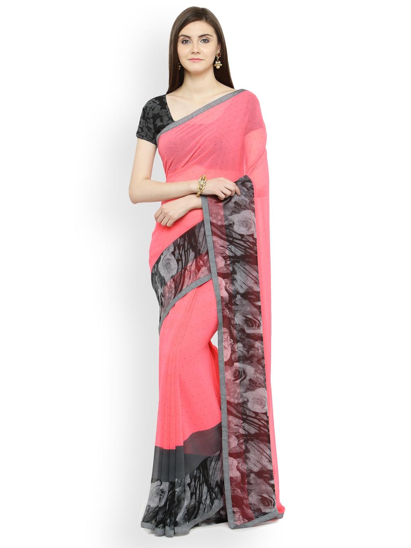 123742650997c Georgette Sarees - Buy Georgette Saree Online in India