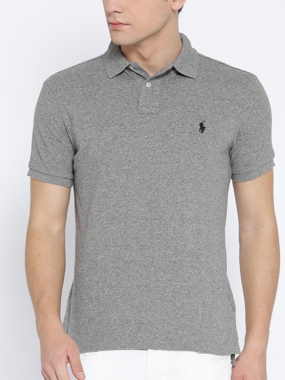 Ralph Polo Shirt Slim Mesh Custom Lauren Fit 92EIDH