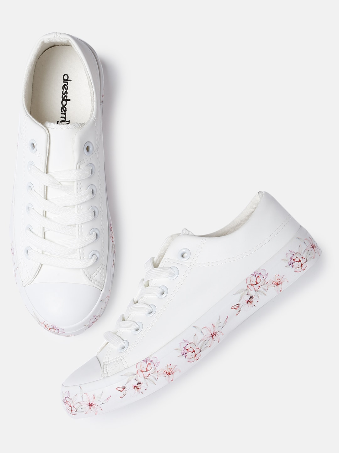 choose clearance great prices superior quality DressBerry Women White Sneakers