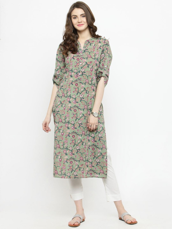 c1ea6dad8f3 Floral Kurtas - Buy Floral Kurtas online in India