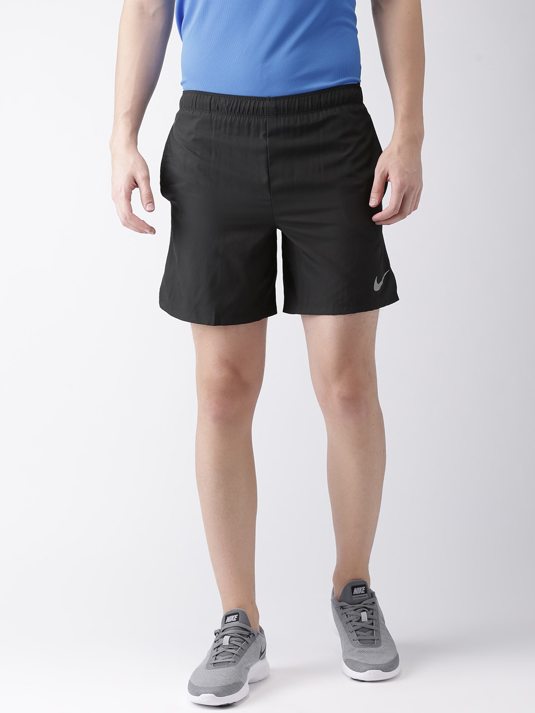 aadd0a936a17 Nike Black Sports Shorts - Buy Nike Black Sports Shorts online in India
