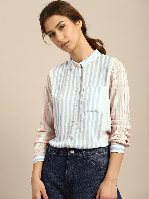 431d301c4856b3 Women Shirts - Buy Shirts for Women Online in India