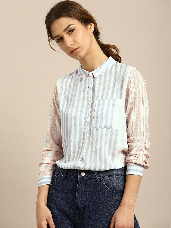 80c12923f88 Women Shirts - Buy Shirts for Women Online in India