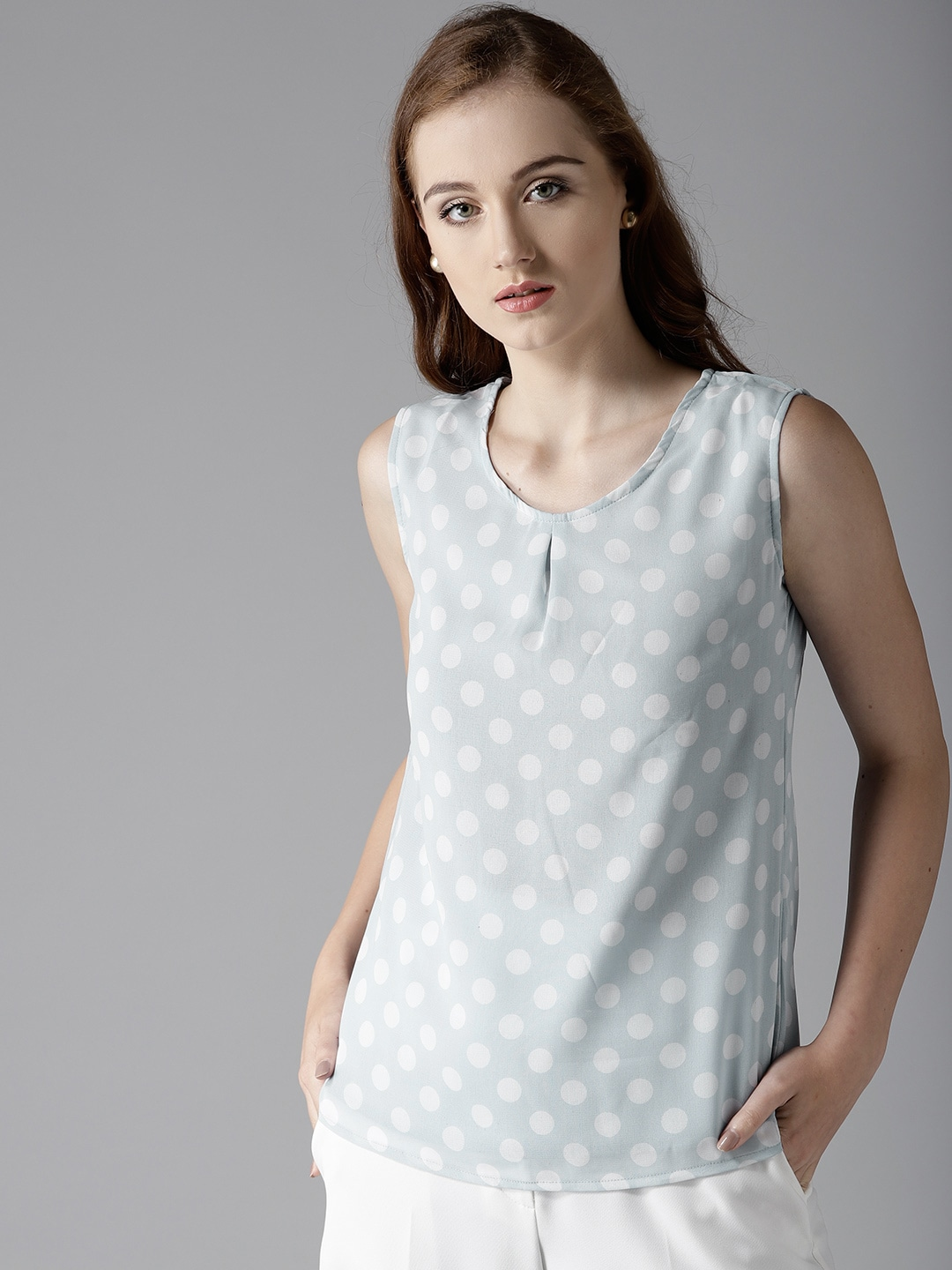 301c48f2d996bd Polka Dot Tops - Buy Polka Dot Tops online in India