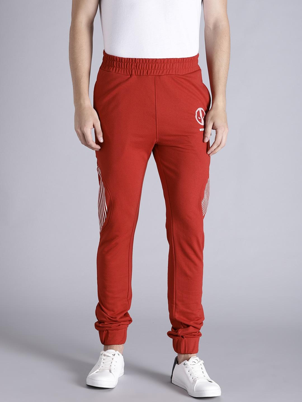 Kook N Keech Marvel Red Printed Straight Fit Joggers