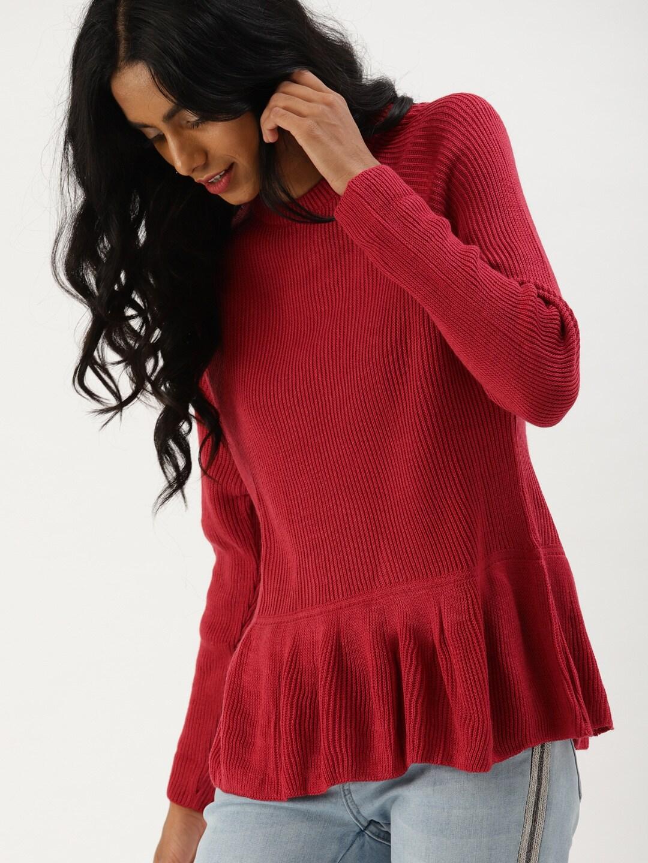 Sweaters for Women - Buy Womens Sweaters Online - Myntra 6213fadc2