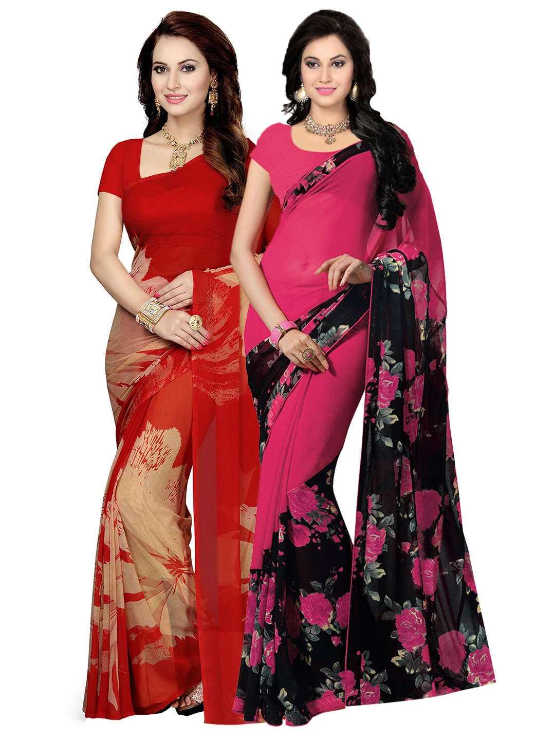 89f12ccde69 Printed Saree - Buy Printed Sarees for Women Online in India
