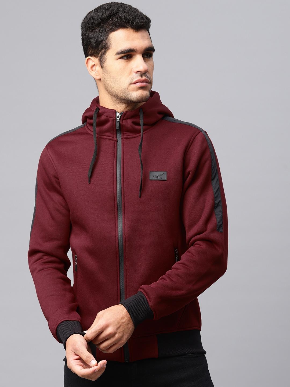Sweatshirts Hoodies Buy For Men Women Jaket Fleece Db Red Online Myntra