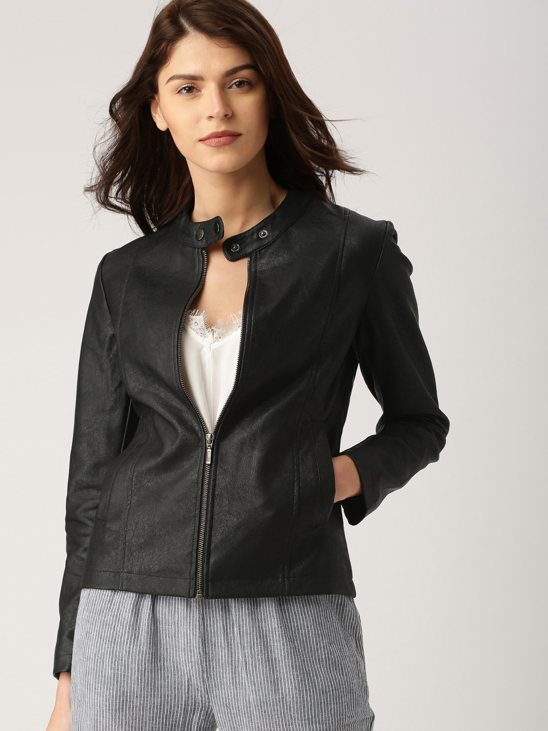 Jackets For Women Buy Casual Leather Jackets For Women Online