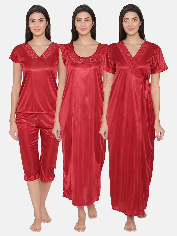 Clovia Short Sleeve Loungewear And Nightwear - Buy Clovia Short Sleeve  Loungewear And Nightwear online in India 1759709b4