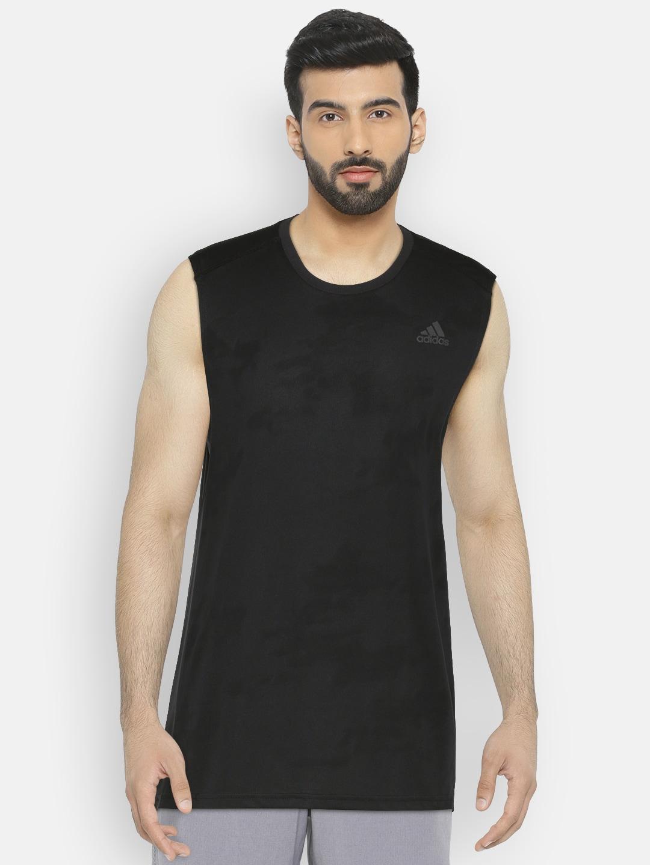 Adidas Sleeveless Tshirts - Buy Adidas Sleeveless Tshirts online in India 9759e8754a5c