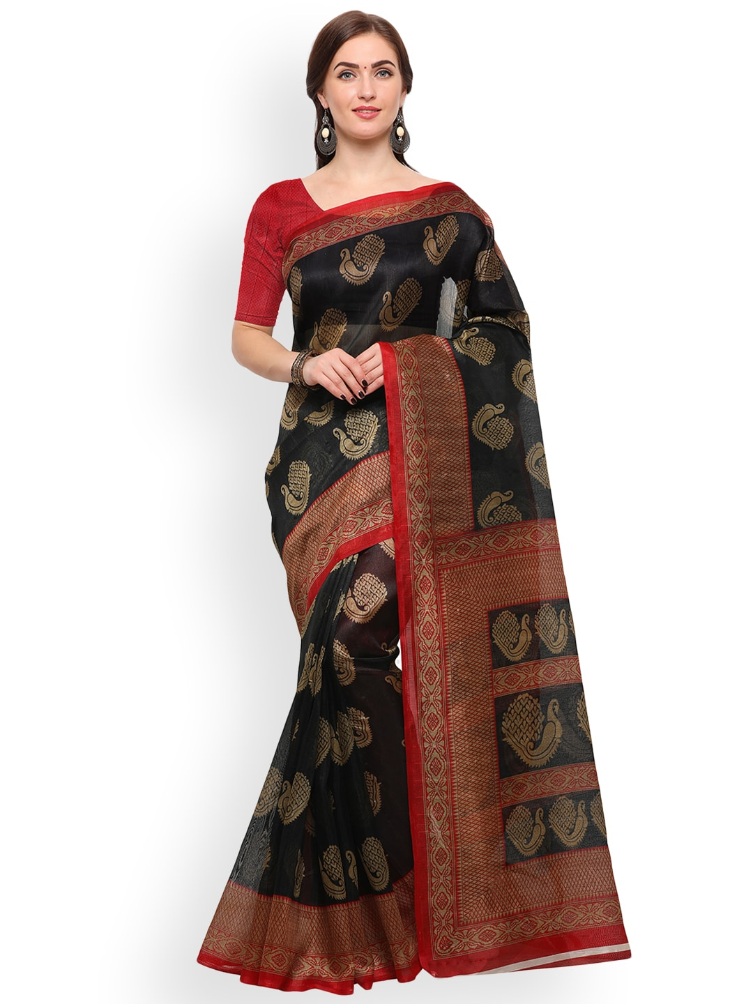 151296617d9 Black Saree - Black Designer Sarees Online   Best Price