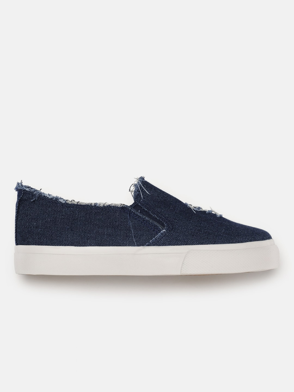Roadster Women Navy Blue Denim Sneakers