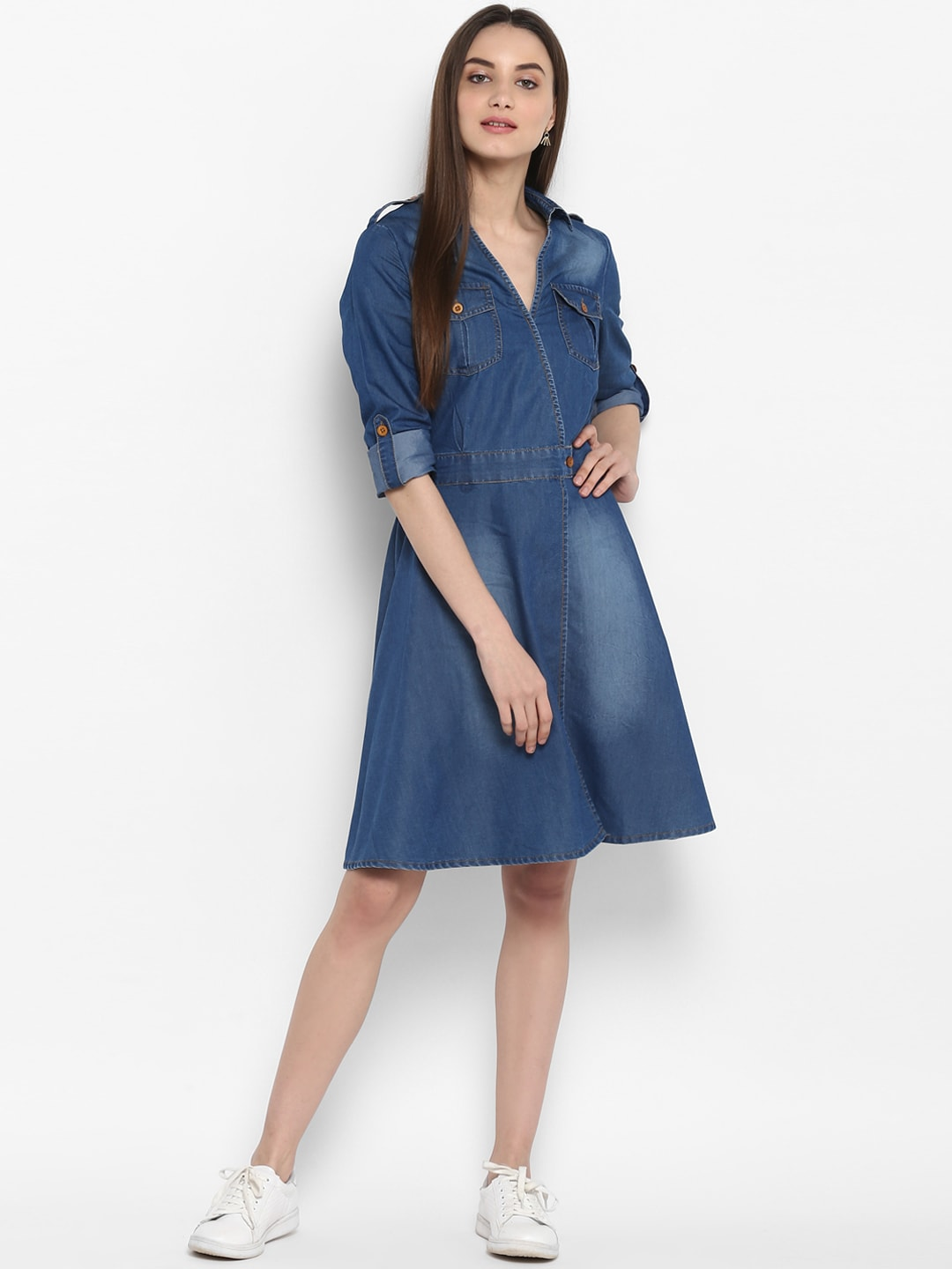 f39e9d21565 Blue Dungarees Dresses - Buy Blue Dungarees Dresses online in India