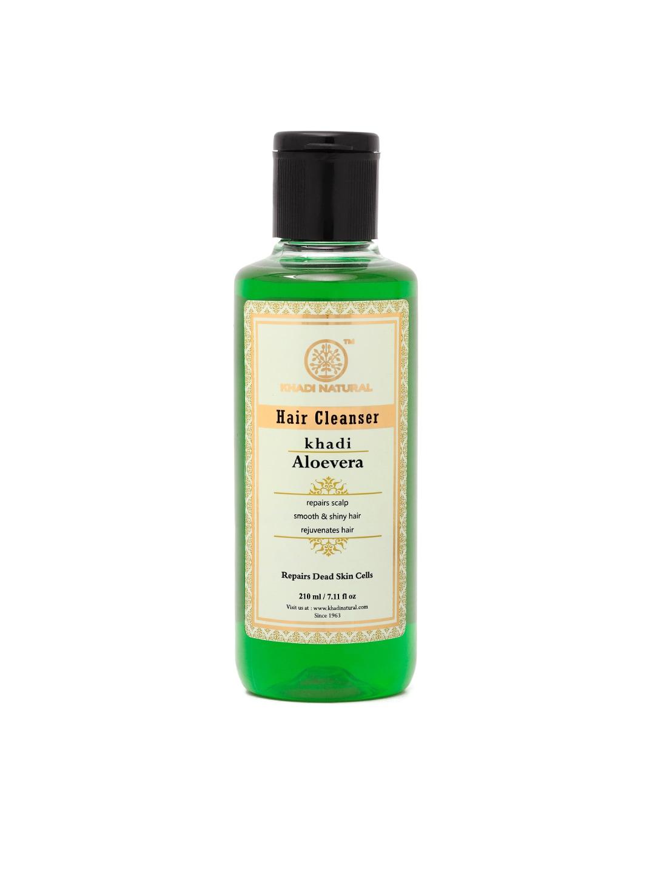 Khadi Natural Unisex Aloevera Hair Cleanser 210 ml