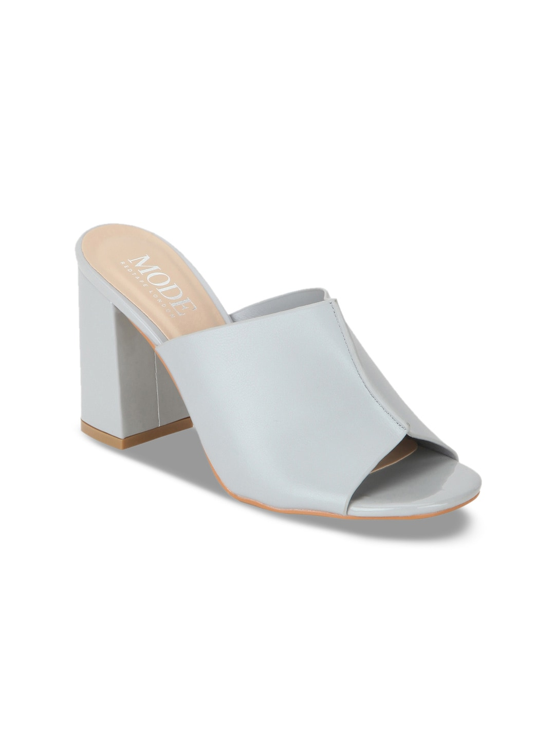 64d6d8aeba0 Mode by Red Tape Women Grey Solid Heels