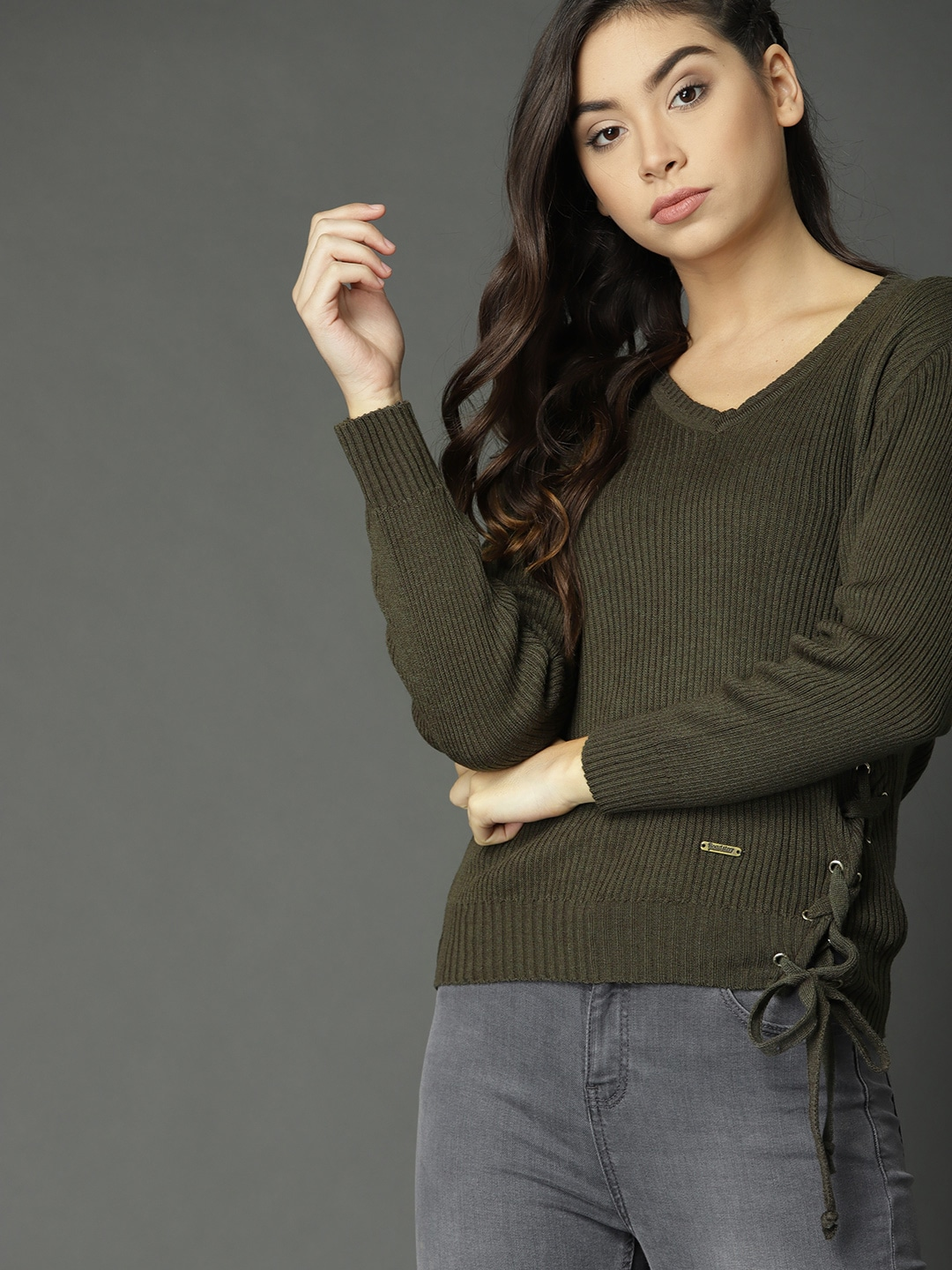 18e3e5ff65 Sweaters for Women - Buy Womens Sweaters Online - Myntra