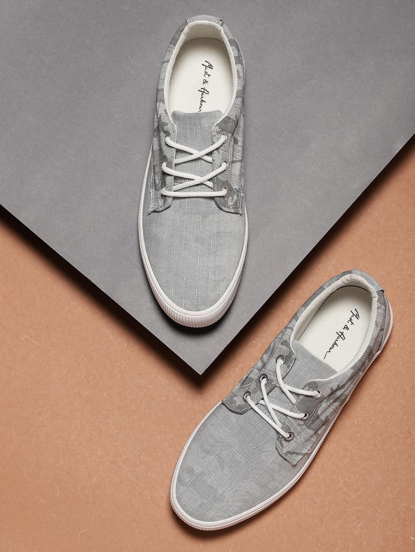 Mast \u0026 Harbour Men Grey Sneakers 5497600
