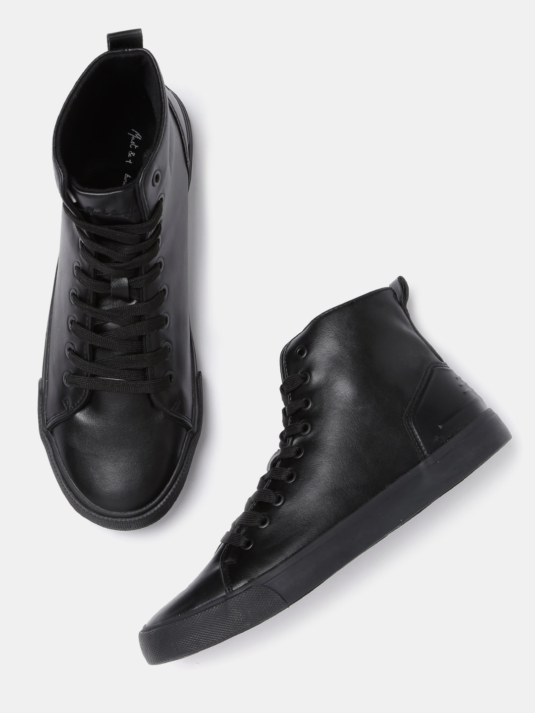 3890aded84 Black Casual Shoes - Buy Black Casual Shoes Online in India