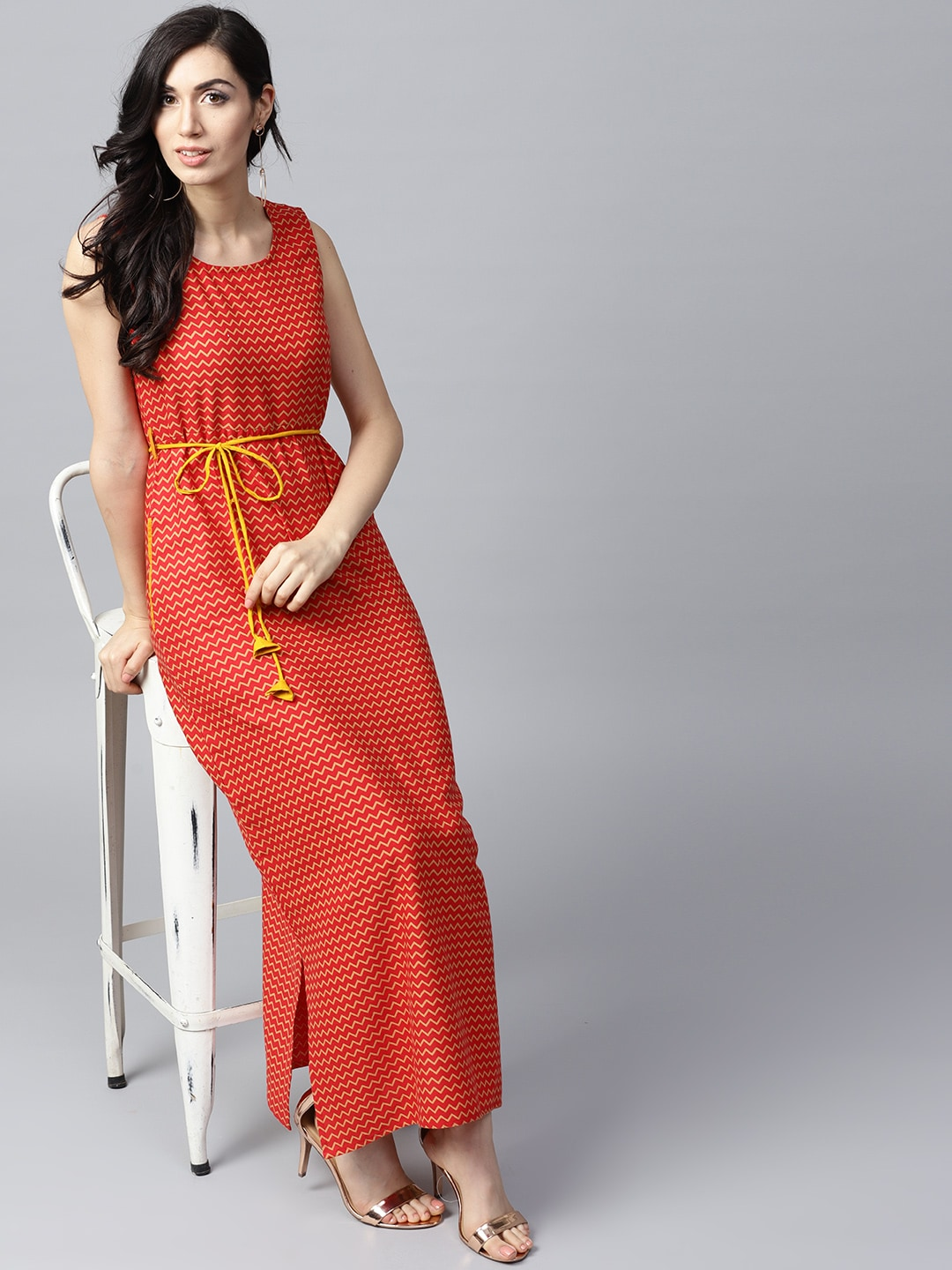 16401040093 Red Dress - Buy Trendy Red Colour Dresses Online in India