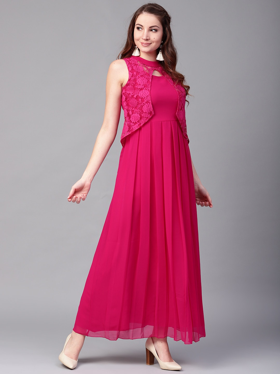 5779b11ce00 Long Dresses - Buy Maxi Dresses for Women Online in India - Upto 70% OFF