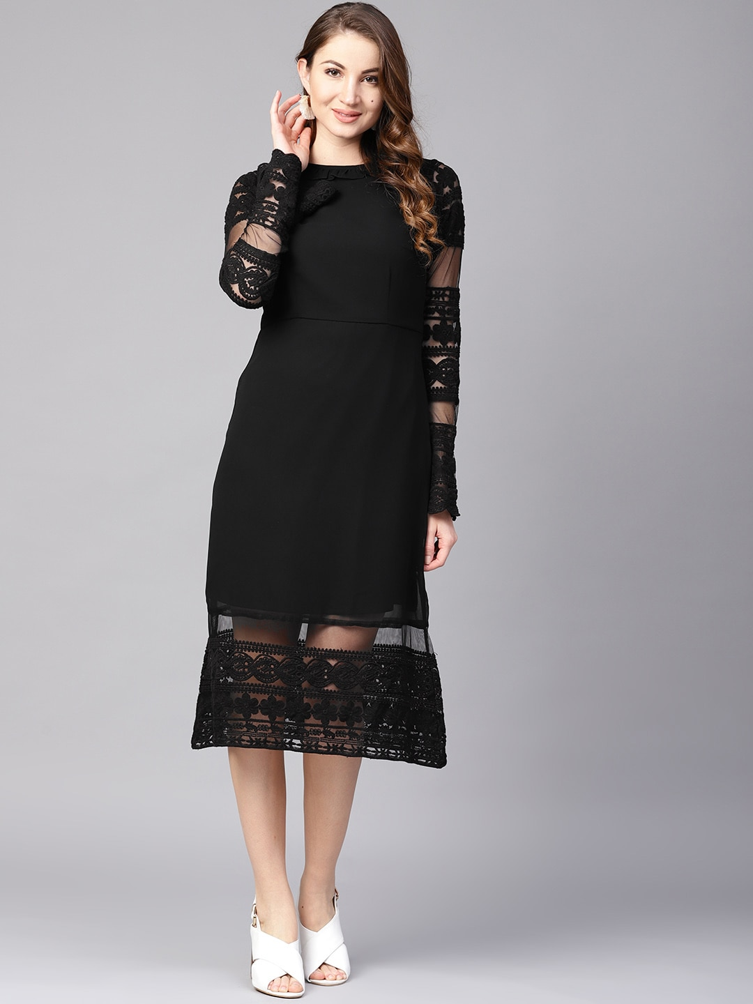 Black Dress - Buy Black Dresses For Women in India  0bf3016cb