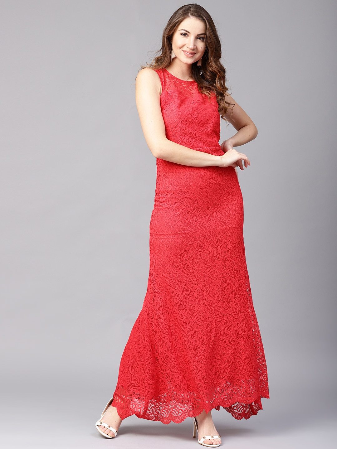Red Lady Dress