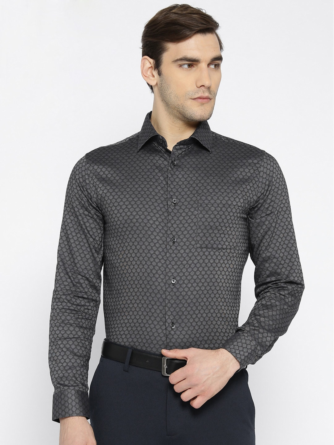 50b4ce97809 Black Party Shirts - Buy Black Party Shirts online in India