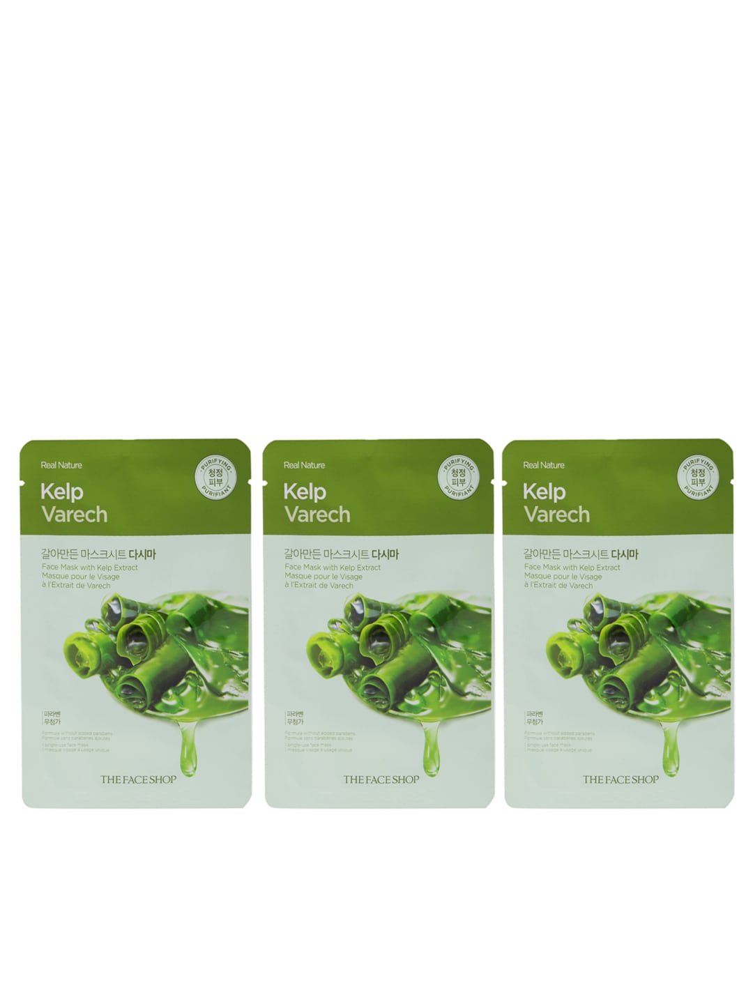 The Face Shop Mask And Peel Buy Online Real Nature Sheet Kelp In India
