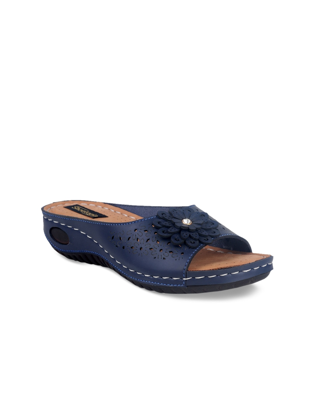 c14bbe58346 Blue Flats - Buy Blue Flats online in India