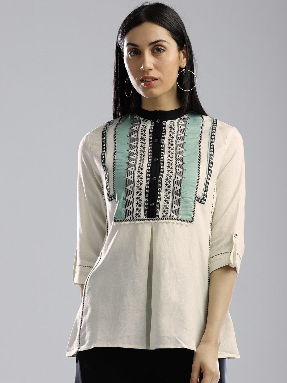 Ethnic Tops - Buy Ethnic Wear for Women Online in India 52afa2ec4