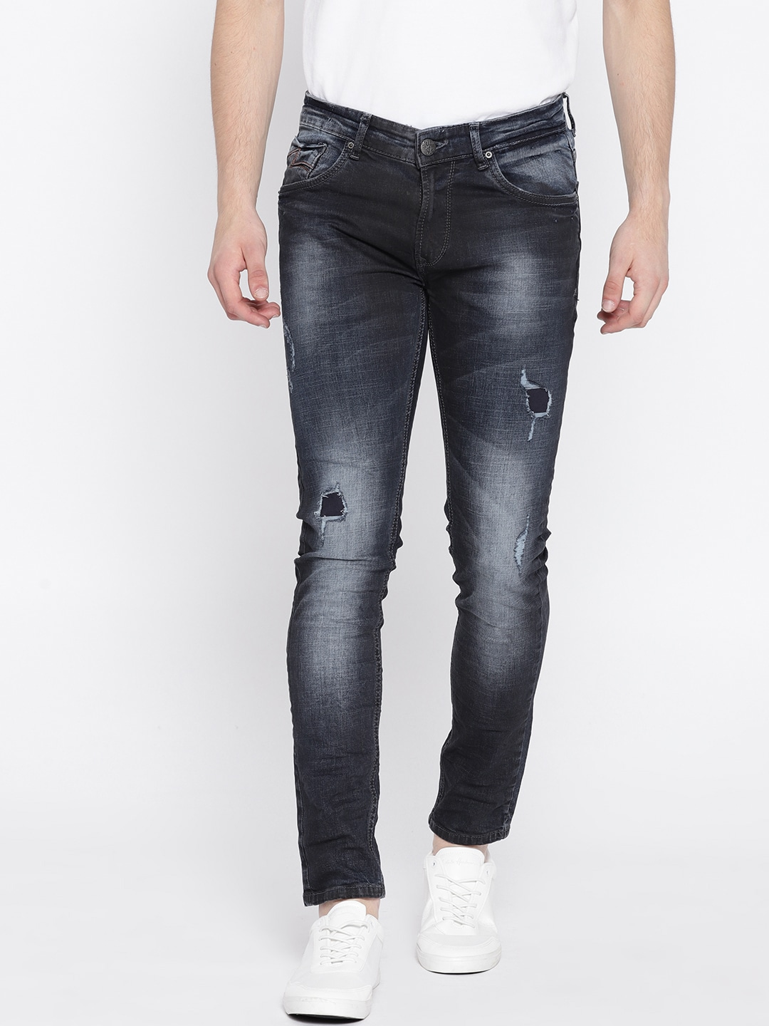 b1a5f1d9e91 Spykar Ripped Jeans Leggings - Buy Spykar Ripped Jeans Leggings online in  India